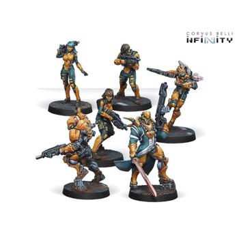 Joc miniaturi Infinity Yu Jing Starter Pack