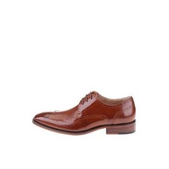 Pantofi Oxford din piele Dice Harris - maro
