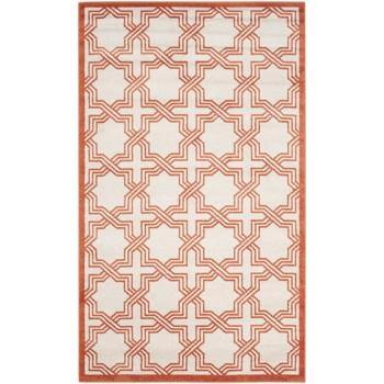 Covor Safavieh Oriental & Clasic Barcares Bej/Portocaliu 160x230 cm