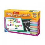 Tabla multifunctionala educativa cu numere si alfabet D-Toys