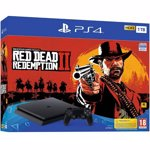Consola Sony PlayStation PS4 Slim 1TB + Red Dead Redemption 2