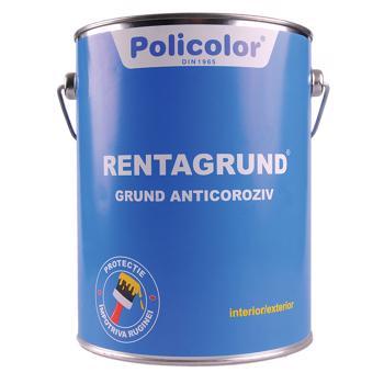 Grund pentru metal Policolor Rentagrund G 5008, interior / exterior, gri, 0,75 L