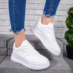 Pantofi sport dama albi Astunia