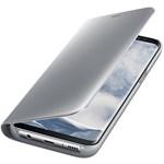 Husa Clear View SAMSUNG Galaxy S8, EF-ZG950CSEGWW, Silver