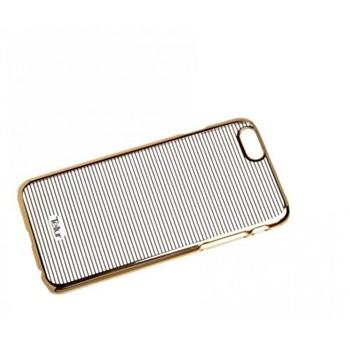 Skin Tellur iPhone 5 5S SE Dungi Orizontale Auriu tll113481