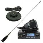 Kit Statie radio CB TTi TCB-550 si Antena PNI ML145 cu magnet