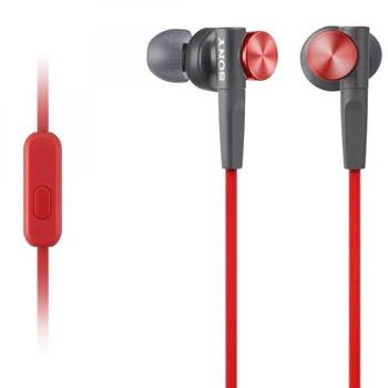 Casti audio in-ear Sony MDR-XB50APR, Control Telefon, Extra Bass, Rosu