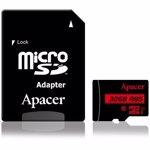 MicroSDHC Card Apacer 32GB clasa 10 UHS-I cu adaptor, 85MB/s