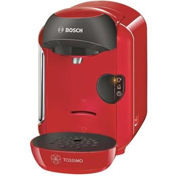 Bosch Espressor automat Tassimo Vivy TAS 1253, 1300 W, 0.7 l, Tehnologie INTELLIBREW, Rosu