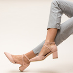 Pantofi Theresa Roz