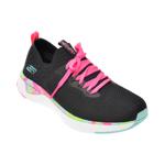 Pantofi sport SKECHERS negri, Solar Fuse, din material textil