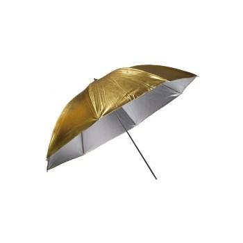 Kast KGSU-40 100cm - umbrela reversibila Silver/Gold