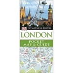 London Pocket Map and Guide (DK EYEWITNESS TRAVEL GUIDE)