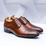 Pantofi eleganti Piele maro Jonioli-rl-20