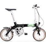 Bicicleta electrica pliabila Pegas Dinamic, aluminiu, autonomie 50 Km, motor 36V 250W, 28H, negru