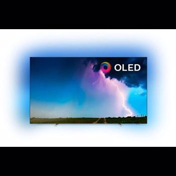 Televizor OLED 139 cm Philips 55OLED754/12 4K Ultra HD Smart TV Ambilight 55oled754/12