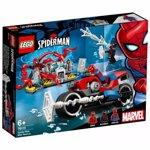 LEGO Super Heroes: Salvarea cu motocicleta a lui Spider-Man 76113, 6 ani+, 235 piese