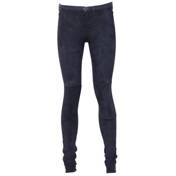 Pantaloni ZARA Tela Dark Blue