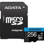 Card de Memorie ADATA Premier MicroSDXC 256GB UHS-I + Adaptor ausdx256guicl10a1-ra1