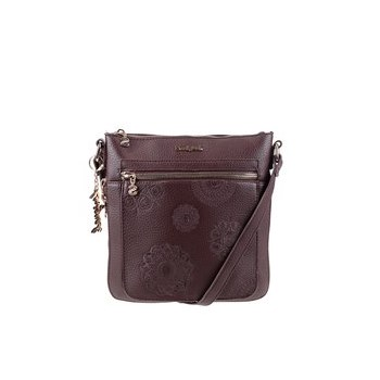 Geanta maro crossbody Desigual Moscue cu model