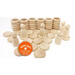 GRAPAT Nins, rings & coins Natural Wood