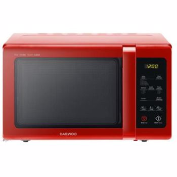 Cuptor cu microunde Daewoo, digital, 900 W, 25 l, 10 niveluri de putere, afisaj electronic, control digital, 5 programe presetat