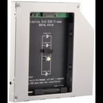 Adaptor Caddy HDD pentru unitate optic laptop Sata-M2 12.5 mm caddy125sm2