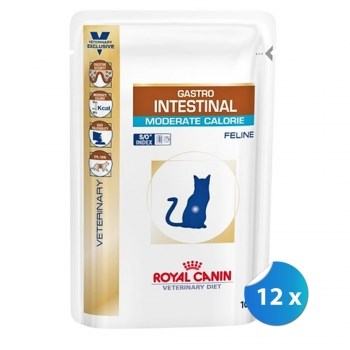 Royal Canin Gastro Intestinal Cat Moderate Calorie, 12 x 85g