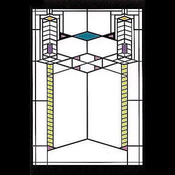 Robie House Window Magnet