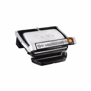Gratar electric Optigrill+ Wafles , 2000 W, 6 programe, Indicator pentru nivelul de gatire, Placi detasabile, Accesoriu pentru gofre, Negru/Argintiu