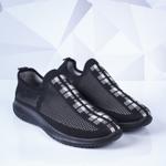 Pantofi barbati sport negri cu alb Mikey
