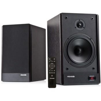 Boxe 2.0 Microlab Solo 26, 130W, Telecomanda, Maro