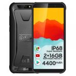 Telefon mobil iHunt S10 Tank 2021 Negru, 3G, IPS 5.5 , 2GB RAM, 16GB ROM, Android 8.1, MTK6580P Quad-Core, IP68, Face ID, 4400mAh, Dual SIM