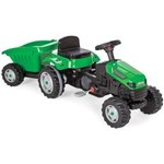 Tractor cu pedale si remorca Active Green - Pilsan