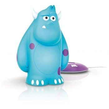 Lampa Philips SoftPal Disney Sulley, Led, 1x1W, Albastru