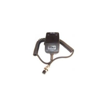 Microfon cu ecou PNI Echo 6, cu 6 pini, 88 x 65 x 35 mm, negru