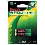 Acumulator NI-MH Kodak AAA 1 2V 1000mA blister 2 buc 012-110