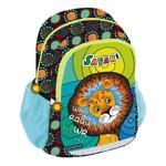 Ghiozdan Safari Lion, clasele primare, 2 compartimente, Starpak