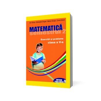 Matematică. Exerciţii şi probleme. Clasa a V-a, semestrul II 2012-2013