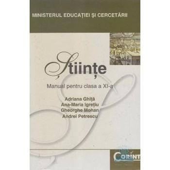 Stiinte - Clasa 11 - Manual - Adriana Ghita, Ana-Maria Igretiu
