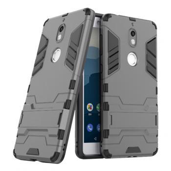 Husa hibrid g-shock pentru Nokia 7 gri