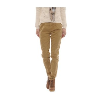 Pantaloni conici din bumbac