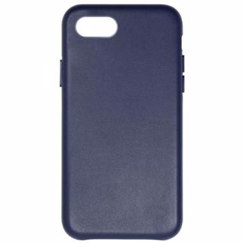Carcasa Protectie Just Must Origin Leather iPhone 7 / 8 Midnight Blue jmolciph8mb