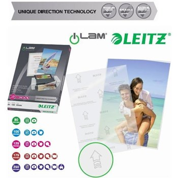 Folie de laminat Folie pentru laminare, A5 - 125 microni 100 folii/cutie LEITZ
