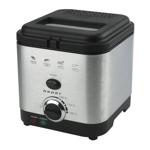 Friteuza Beper, 900 W, 1.5 l, 190 C, temperatura reglabila, buton push