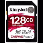 Card de memorie Kingston SDXC 128GB Canvas Go React 100R-80W Clasa 10 UHS-I sdr/128gb