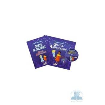 Graiul animalelor - Set 2 carti + CD