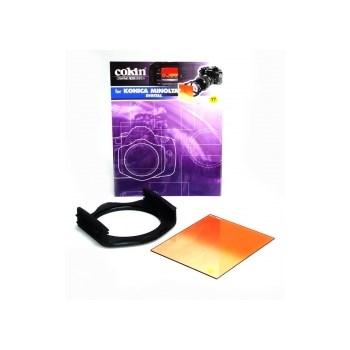 Kit filtre Cokin H524 52mm - Holder P+ inel P452 + Filtru P197 Sunset
