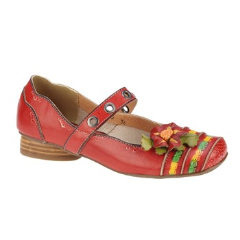 Pantofi casual dama Feeling rosu