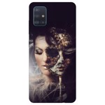 Husa Silicon Soft Upzz Print Samsung Galaxy A51 Model Carnaval